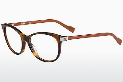 Gafas de diseño Boss Orange BO 0184 KBG - Marrones, Havanna