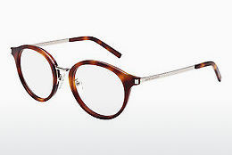 Gafas de diseño Saint Laurent SL 91 002 - Marrones, Havanna